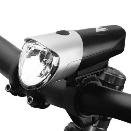 Wozinsky LED biciklis első lámpa microUsb töltéssel