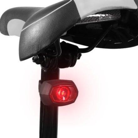 Wozinsky LED biciklis hátsólámpa microUsb töltéssel
