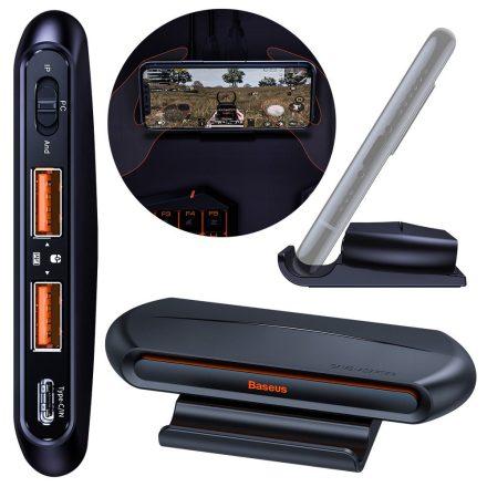 Baseus Gamo Mobile Game Adapter 2x USB HUB GA01 billentyűzet és egér csatlakoztatáshoz, Fekete