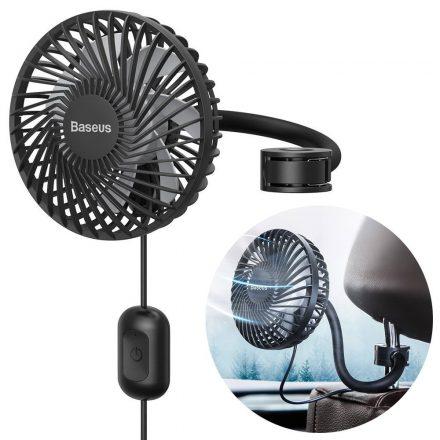 Baseus Backseat Fan fejtámlára illeszthető autós ventilátor - CXQC-B03, Fekete