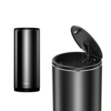 Baseus Gentleman Style prémium minőségű autós szemetes (CRLJT-01), fekete