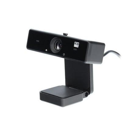 Webkamera, ECM-CDV126D 2K (2560*1440)/25fps beépített mikrofonnal, plug&play, fekete