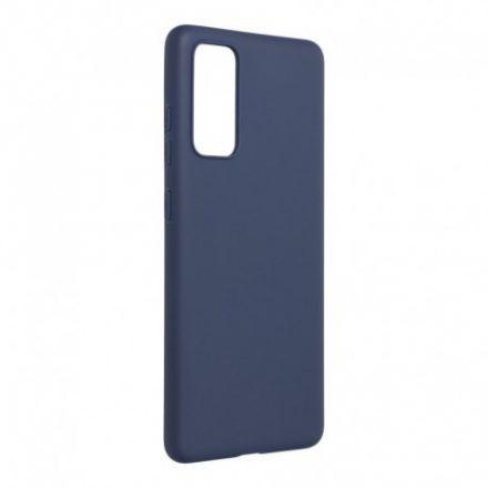 Samsung Galaxy S20 FE Forcell színes szilikontok, sötétkék
